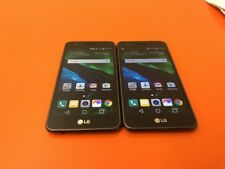 Lot of 2 LG Fortune M153 - 16GB - Black (Cricket) Smartphone