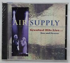 Giant Air Supply Greatest Hits Live Now And Forever CD New Sealed