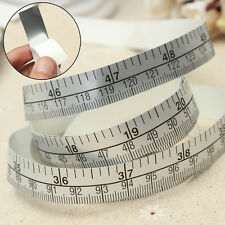 Vinyl Silver Self Adhesive Measuring Tape Ruler For Sewing Machine Sticker#