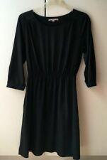 Petite robe noire GAP taille XS soit 34-36 manches 3/4 taille élastiquée