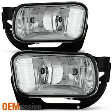 Fits 09-12 Dodge Ram 1500/ 2010-2018 2500 3500 Bumper Fog Lights w/Bracket,Bulbs