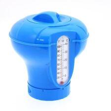 Distributeur Diffuseur réglable de chlore flottant + Thermomètre Piscine et Spas