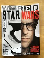 Wired Magazine Jan / Feb 2016 The Secrets Of Star Wars Like New