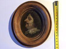 Ritratto-Miniatura Su Rame XVIII sec.