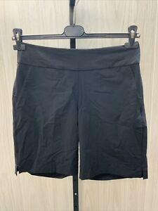 Adidas Golf Modern Bermuda Golf Shorts Women's Size M Black
