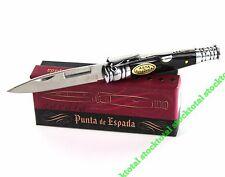 NAVAJA PUNTA ESPADA ASTA TORO HORN BULL  KNIFE MESSER HOJA 7 CMS 01059 M SX