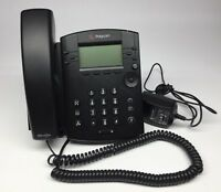 VVX 300 Polycom phone vvx300 handset stand 48v AC adapter charger included