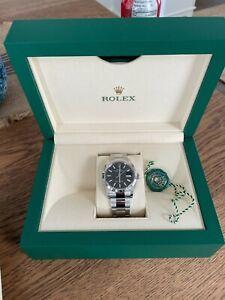 Rolex Datejust 36mm Ref 126234 Black Dial Fluted Bezel Oyster Bracelet