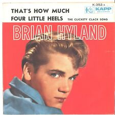 BRIAN HYLAND--PICTURE SLEEVE ONLY--(THAT'S HOW MUCH/4 LITTLE HEELS)--PS--PIC-SLV