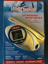 Wind Scribe Ultrasonic Wind Meter by Davis Instruments-speed , tempature, chill