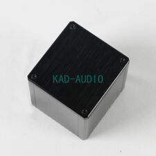 1pc 110x110x96mm Black Aluminum Transformer cover Case Box protect cover For Amp
