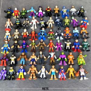 40PCS Imaginext Figures Ranger DC Comics Super Friends Jurassic World Disney Toy