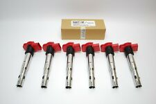 AUDI Q7 3.0 TFSI 272 + 333 2010 ONWARDS > IGNITION COILPACK SET x 6 COILPACKS