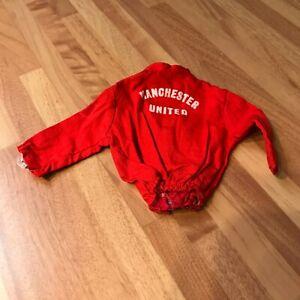 Vintage Action Man Manchester United track suit top