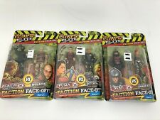 THE CORPS ELITE FACTION FACEOFF FIGURES Lot Of 3 NEW Sealed