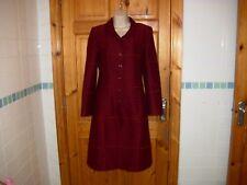 Irish designer coat by YELLOWHAMMER slim fit formal dress coat princess size 8UK