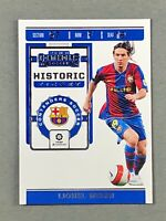 2019-20 Panini Chronicles Contenders Historic Rookie Ticket Lionel Messi