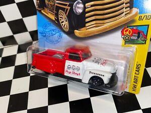 "Hot Wheels La Troca - 1950s Chevy - ""PEP BOYS"" custom"