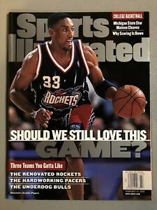 Scottie Pippen Sports Illustrated 2/15/99 NO LABEL Newsstand Edition MINT