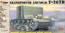 Mirage Munitionstransporter T-26 TB Ammunition Transporter 1:72 Panzer Tank kit
