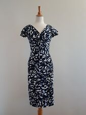 Ralph Lauren Women's Faux Wrap Dress, Stretch, Size 2 / Au6 EUC
