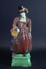 F.J. Mayer (*1887) Berchtesgaden - prachtvolle Keramikfigur - Frau in Tracht