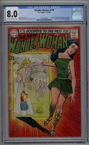 Wonder Woman # 179 CGC 8.0 VF Renounces Powers & Costume 1968 Denny O'Neil