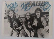 Framed Motorhead with Lemmy Kilmister Autograph Replica Print