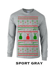 397 Ugly Christmas sweater story Long Sleeve xmas gift bb gun pink nightmare