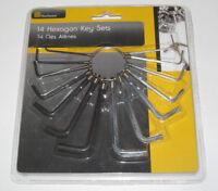 Lot Jeu de 14 Clés Alênes Hexagon Key Sets