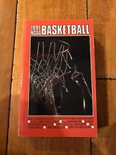 1991 NCAA BASKETBALL BOOK RECORDS SCHEDULES ++ Good Condition