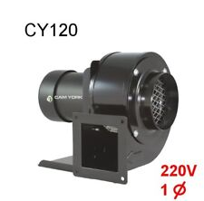 Centrifugal blower Cam York CY120 200V 220V 230V 240V AC blower 1phase 1/8HP