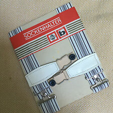 Vintage German Sock suspenders (Garters) Sockenhalter striped