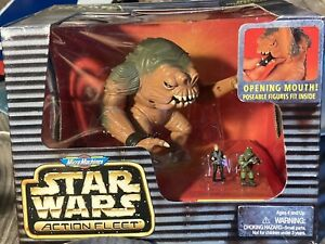 Micro Machines Star Wars Action Fleet RANCOR Luke Skywalker and Gamorrean Guard