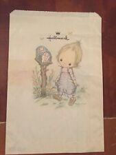 Betsey Clark Vintage Gift Bag 70's 10x7 Vintage Hallmark Paper Sack Gift Bag
