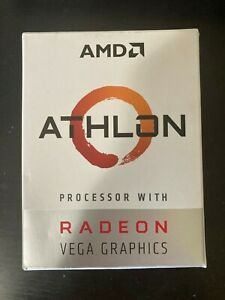 AMD Athlon 200GE AM4 APU with cooler - used and in great condition