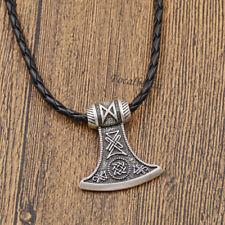 Halskette 1Stk Herren Viking Axt Anhänger Unisex Mode Schmuck Deko Geschenk Neu