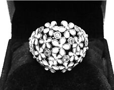 Authentic Pandora Darling Daisy Bouquet Ring W/ Pandora TAG & BOX #190936EN12