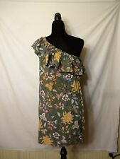MEDIUM UNBRANDED ONE SHOULDER ROMANTIC WOMENS DRESS SIZE 10/12 SUNDRESS SUMMER