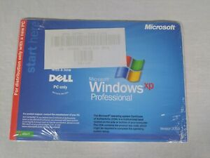 New Microsoft Windows XP Professional Dell Reinstallation CD Service Pack 2