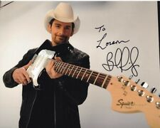 BRAD PAISLEY Autographed Signed Photograph - To Loren