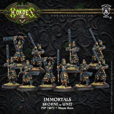 Hordes - Skorne - Immortals Unit (10) - PIP 74072 - SEALED