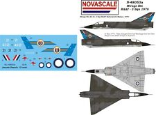 RAAF Mirage IIIo Mini-Set Decals 1/48 Scale N48053a