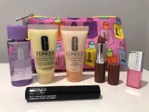 Clinique Gift Set + Make Up Bag - NEW