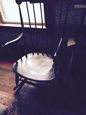 Vintage Hitchcock style Boston Rocker rocking Chair porch Nursery home Quality