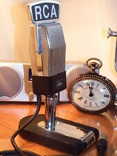 Heil Classic Microphone and stand - RCA Flag - Vintage RCA 74B Clone