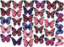 30 Edible Butterflies Butterfly Cake Cupcake Images Toppers Birthday Decorations