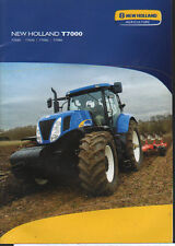 "New Holland ""T7000"" Tractor Brochure Leaflet"