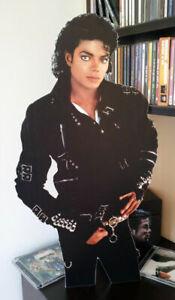 "Michael Jackson Display Stand Standee 22"" Figure Bad"