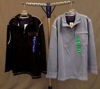 NWT Men's Nautica 1/4 Zip Lightweight Pullover/Jacket -Zipper Close Front Pocket